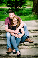 Claire & Rhys, Engagement, Roath Park, Cardiff