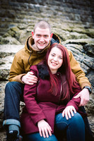 Jennifer and Jordan Moore, Pre wedding Shoot, Whitmore Bay, Barry Island